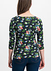 so long betty shirt, vagabund flowers, Shirts, Black