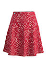 sommerbraut skirtlet, strawberry point, Skirts, Red