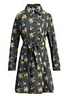 spy of love trenchcoat, patio plant, Jackets & Coats, Black