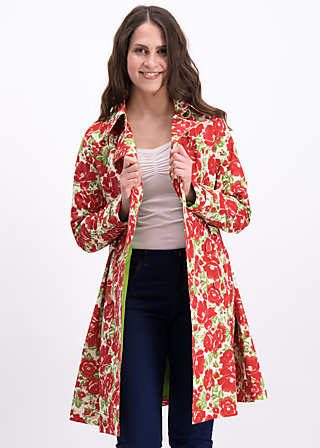 spy of love trenchcoat, poppy power, Jackets & Coats, Green