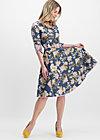 swing a bow dress, grannys wallpaper, Webkleider, Blau