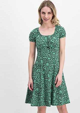 swing along dress, heartbeat of the street, Jersey Dresses, Grün