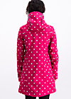 Softshell-Parka wild weather long anorak, pink point, Jacken & Mäntel, Rosa