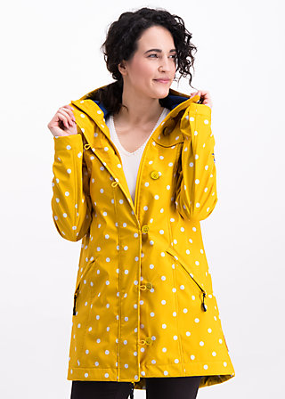 wild weather long anorak, north north west, Jackets & Coats, Yellow