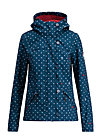 wild weather petite anorak, love me anchor, Softshell, Blau