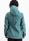 Raincoat wild weather petite anorak, tiny triangle, Jackets & Coats, Green