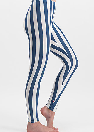 zahnpasta stripes longlegs, wander stripe, Leggings, Blau