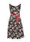 sommerliebe robe, sensommar blomsteräng, Kleider, Schwarz
