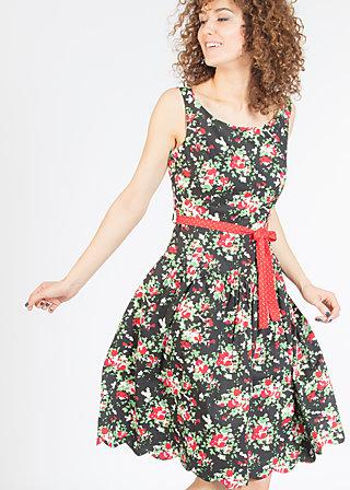 sommerliebe robe, sensommar blomsteräng, Dresses, Schwarz