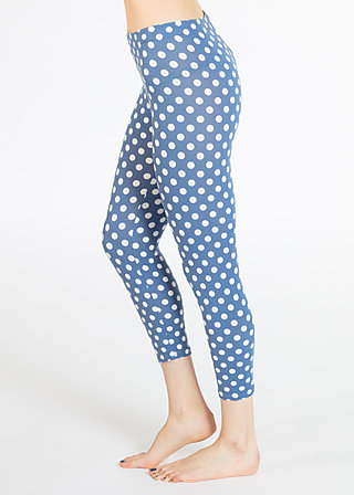 sunshady day legsters, snowwhite dots, Leggings, Blau