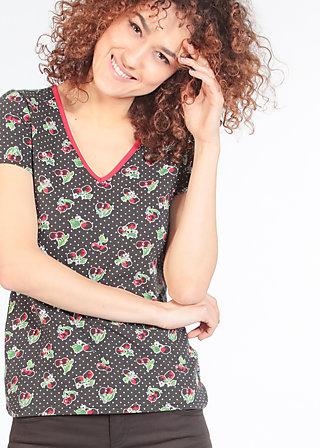 veranda feger shirt, charlets cherries, Shirts, Schwarz