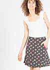 very me volanterie skirt , charlets cherries, Röcke, Schwarz