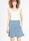 very me volanterie skirt , snowwhite dots, Röcke, Blau