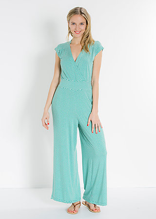 lure of the tropics suit, turtle tourquoise, Hosen, Grün