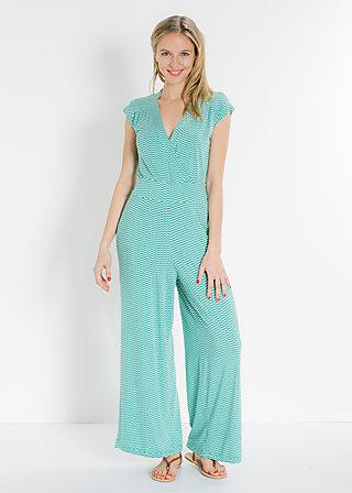 lure of the tropics suit, turtle tourquoise, Jumpsuits, Grün