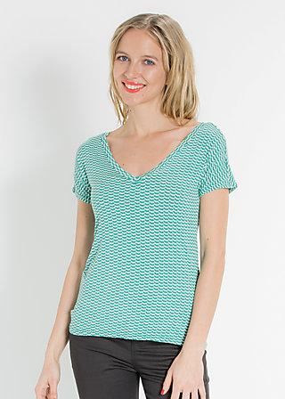 rein und fein tee, turtle tourquoise, Shirts, Grün