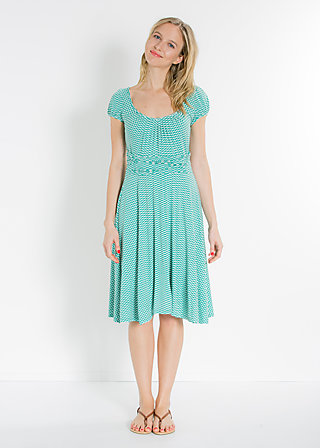 sweet cheat dress, turtle tourquoise, Kleider, Grün