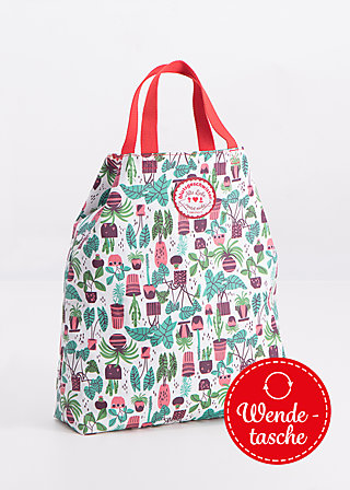 beautiful from inside bag, houseplanty, Shopper Bags & Backpacks, Grün