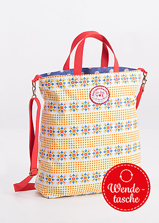 beautiful from inside bag, smaland blooma, Shopper & Rucksäcke, Gelb