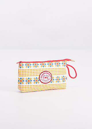 sweethearts washbag, smaland blooma, Washbags, Gelb