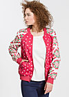 Cherry Club Jacket, belle mama, Jacken, Rot