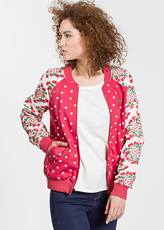 Cherry Club Jacket, belle mama, Jackets, Rot