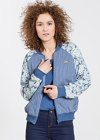 Cherry Club Jacket, dress like sailors, Jackets, Blau