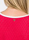 Cotton heart Robe, red blossom, Kleider, Rot