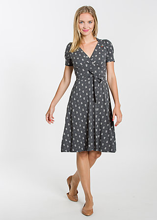 glazy glade robe, early blooming, Jerseykleider, Schwarz