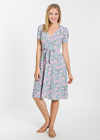 glazy glade robe, garden at home, Kleider, Blau