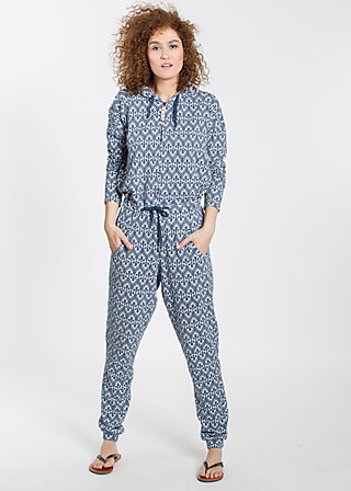 jump around suit, tulips timeless, Hosen, Blau