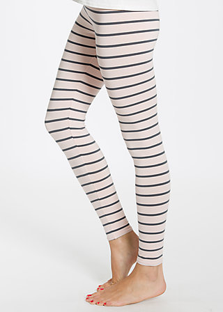 logo leggins, rose stripes, Leggings, Rosa