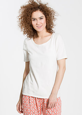 logo roundneck t-shirt, fresh white, Shirts, Weiß