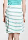 logo skirt, white stripes, Röcke, Weiß