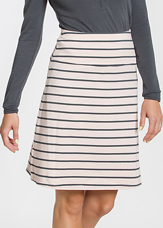 logo skirt, rose stripes, Röcke, Rosa