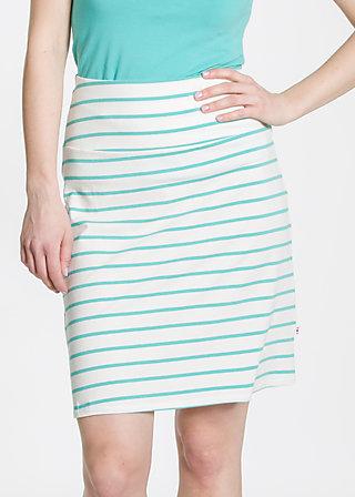 logo skirt, white stripes, Skirts, Weiß