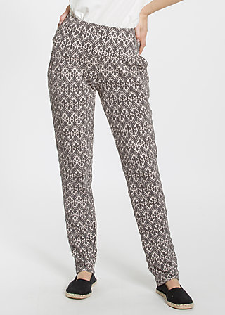 lovely lazyness pants, tulips tendency, Trousers, Schwarz