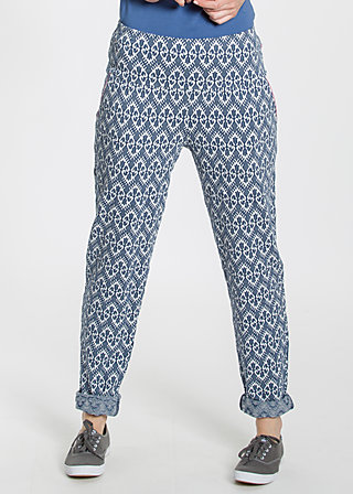 lovely lazyness pants, tulips timeless, Hosen, Blau