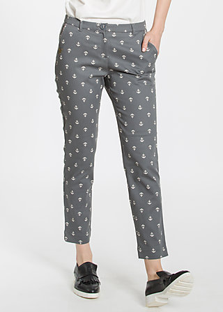pantalon d'amour , be my anchor, Stoffhosen, Schwarz