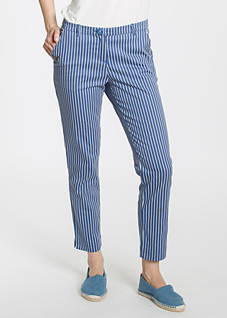 pantalon d'amour , dress like sailors, Stoffhosen, Blau