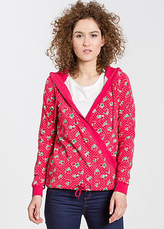 sailorberry hill hood, carries cherries, Pullover, Rot