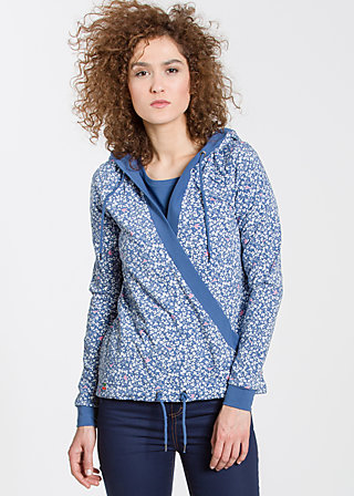 sailorberry hill hood, forest of birds, Pullover & Hoodies, Blau