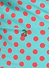 schönheit von lande shirt, berry dots, Langarm, Türkis