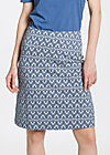 simple folks skirt, tulips timeless, Jerseyröcke, Blau