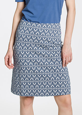 simple folks skirt, tulips timeless, Röcke, Blau