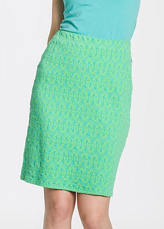 simple folks skirt, tulips trash, Jerseyröcke, Grün