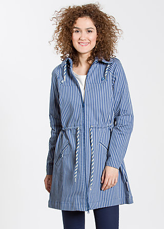 Springbreak Parkacoa, dress like sailors, Jackets, Blau