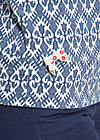 suzies sailor shirt, tulips timeless, Langarm, Blau