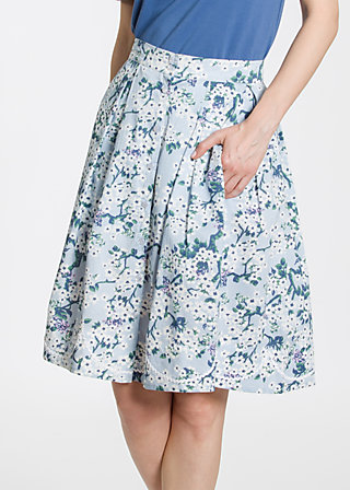 Swing along cloche, bloomy blossoms, Skirts, Blau