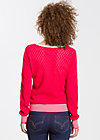 Valley of harmony Cardy, red blossom, Cardigans, Rot